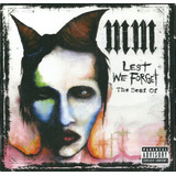 Marilyn Manson   Lest We Forget The Best Of