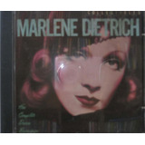 Marlene Dietrich Cd Her Complete Decca Records
