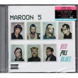Maroon 5   Red Pill Blues   Cd Duplo Lacrado Fabrica   Dance