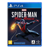 Marvel's Spider-man: Miles Morales Standard Edition Sony Ps4 Físico