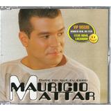 Maurício Mattar Cd Single Onde Foi Que Eu Errei   Raro