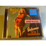 Meat Loaf Welcome To The Neighborhood Cd Lacrado U s a Impor