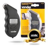 Medidor Digital Pressão Para Pneus Calibrador Cd 500 Vonder