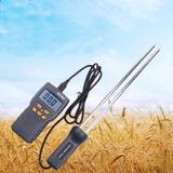 Medidor Digital Umidade Grãos Portatil Trigo Milho Amd7822