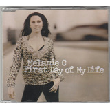Melanie C First Day Promo Cd Single Portugal Spice Girls
