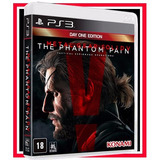 Metal Gear Solid V 5 The Phantom Pain Ps3 Cd Blu ray Origina