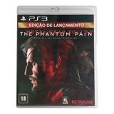 Metal Gear Solid V The Phantom Pain Ps3 Mídia Cd Lacrado