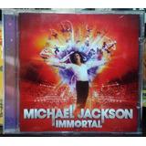 Michael Jackson Immortal Cd Novo Lacrado Frete Grátis Brasil