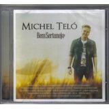 Michel Telo Bem Sertanejo Cd Lacrado Original