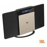 Micro System 10w Rms Radio Fm Usb Cd Bluetooth Jbl Ms202