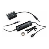 Microfone Audio-technica Atr3350is Condensador Preto