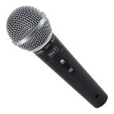 Microfone Mxt M-58 Dinâmico Preto
