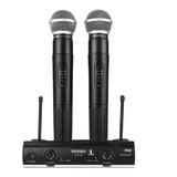 Microfone Sem Fio Profissional Duplo Pgx-58 Completo