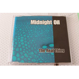 Midnight Oil Cd Single The Real Thing Promo Novo