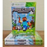 Minecraft Xbox 360 Novo Mídia Física Cd