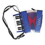Mini Acordeon Sanfona Infantil Musical 8 Baixos