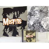 Misfits Cd lp 12 Hits From Hell   Cartaz E Flyer Autografado