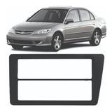 Moldura Civic Honda Painel Dvd Cd 2din Ou 1 Din 2005 Som