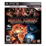 Mortal Kombat Komplete Edition Warner Bros. Ps3 Digital