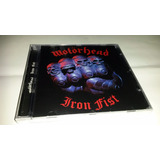 Motorhead   Iron Fist  cd Lacrado