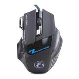 Mouse Para Jogo Estone X7 Preto E Prata