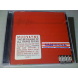 Mudvayne The Beginning Of All Cd Lacrado  3 Bonus  Importado