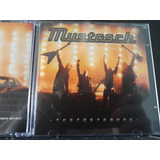 Mustasch Testosterone Amolad Rocks Volbeat Motorhead Kiss Cd