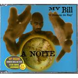 Mv Bill Cd Single Promo A Noite   Raro