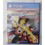 Naruto To Boruto Shinobi Striker Ps4 Legendado Português Cd