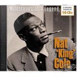 Nat King Cole Milestones Of A Legend   Novo Lacrado Original