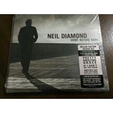 Neil Diamond   Home Before Dark Deluxe Cd dvd Lacrado Imp