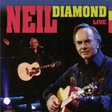 Neil Diamond Live   Cd Rock