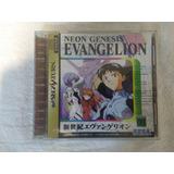 Neon Genesis Evangelion Sega Saturn Jogo Original Cd Japones
