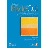 New Inside Out Beginner   Workbook With Key And Audio Cd   M