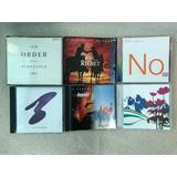 New Order   Lote De 6 Cds   5 Importados   1 Single