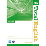 New Total English Starter Workbook   With Key   And Audio Cd