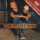 Nick Carter   Now Or Never Cd   Dvd