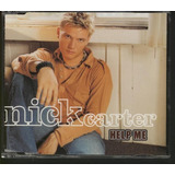 Nick Carter Cd Single Help Me Novo Backstreet Boys Nacional