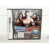 Nintendo Ds Smackdown Cd Raw 2010