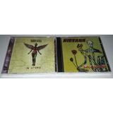 Nirvana - Incesticide E In Utero (2 Cds Novos Lacrados)