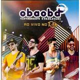 Oba Oba Samba House Ao Vivo No Rj Cd Oriignal Lacrado