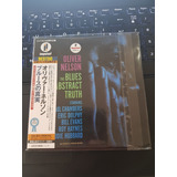 Oliver Nelson The Blues And The Abstract Mini Lp Japonês Cd