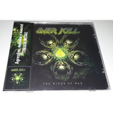 Overkill   The Wings Of War  jewel Case