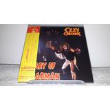 Ozzy Osbourne   Diary Of Madman Bonus Mini Lp Cd Japan