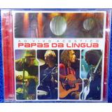 Papas Da Língua Ao Vivo Acústico Cd Original Pronta Entrega