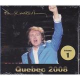Paul Mccartney   Cd Quebec 2008 Ao Vivo   Lacrado De Fábrica