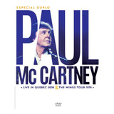 Paul Mccartney   Especial Duplo   Live In Quebec 2008 & The