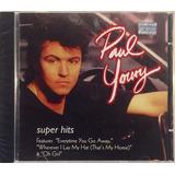Paul Young   Super Hits   Cd Novo Lacrado