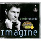 Paulo Ricardo Rpm Cd Single Imagine 2 Versões   Raro
