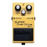 Pedal Boss Sd 1 Super Overdrive Sd1 - Original Nota Fiscal